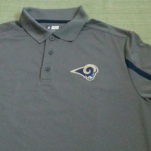 NFL TEAM APPAREL Shirts - NFL LOS ANGELES RAMS FOOTBALL TEAM BEAUTIFUL TOP c6ae1a5ea